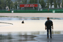 Major flooding around Misano