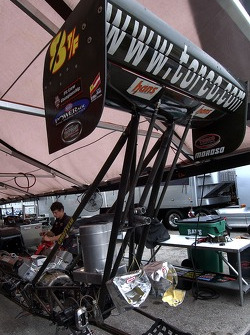 JR Todd's pit area on Thursday