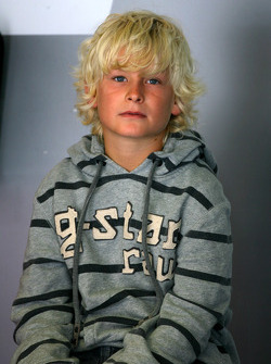 Oliver Kristensen, son of Tom Kristensen