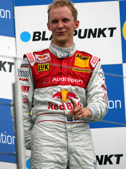 Podium: third place Mattias Ekström celebrates