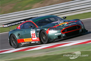 #22 Aston Martin Racing BMS Aston Martin DB9: Enrico Toccacello, Ferdinando Monfardini