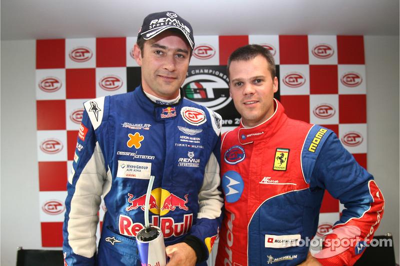 GT1 pole winner Karl Wendlinger and Dirk Muller