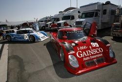 Gainsco/ Bob Stallings Racing Pontiac Riley at technical inspection
