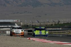 #22 Alegra Motorsports/ Fiorano Racing Porsche GT3 Cup: Carlos de Quesada, Jean-François Dumoulin, #75 Krohn Racing Pontiac Riley: Nic Jonsson, Colin Braun