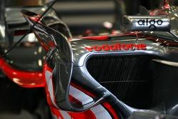 McLaren Mercedes body work detail