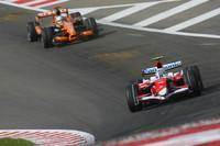 Формула 1 Фото - Ярно Трулли, Toyota Racing, TF107 и Адриан Сутиль, Spyker F1 Team, F8-VII-B