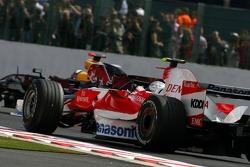 Jarno Trulli, Toyota Racing , David Coulthard, Red Bull Racing