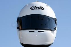 Helmet, Giuseppe Termine, driver of A1 Team Italy
