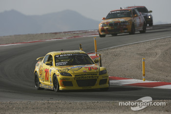 #70 SpeedSource Mazda RX-8: Joe Sahlen, Will Nonnamaker
