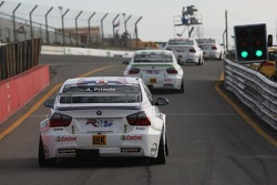 Andy Priaulx, BMW Team UK, BMW 320si WTCC leaves the pits