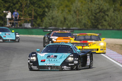 #1 Vitaphone Racing Team Maserati MC 12: Michael Bartels, Thomas Biagi leads the field