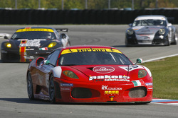 #59 Advanced Engineering Ferrari 430 GT2: Stefano Gattuso, Rui Aguas