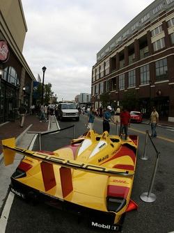Petit Preview Party at Atlantic Station: the Penske Racing Porsche RS on display