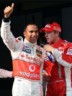 1st, Pole Position, Lewis Hamilton, McLaren Mercedes, MP4-22