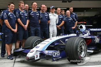 Williams F1 Team Photo, Nico Rosberg, WilliamsF1 Team