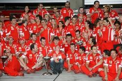 Ferrari Celebration, Kimi Raikkonen, Scuderia Ferrari, Chris Dyer, Scuderia Ferrari, Track Engineer of Kimi Raikkonen