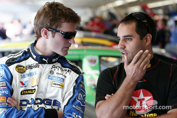 Matt Kenseth and Juan Pablo Montoya