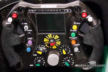 Technical Image, Steering wheel of the Honda, Honda Racing F1 Team