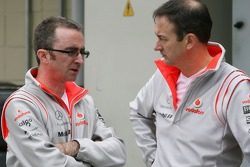 McLaren Mercedes, team members