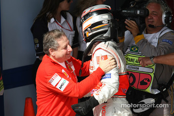 Jean Todt and Fernando Alonso