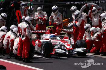 Anthony Davidson, Super Aguri F1 Team pit stop