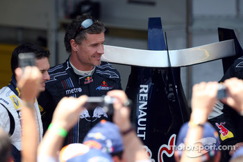 Giancarlo Fisichella and David Coulthard