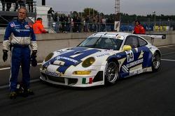 Ebimotors Porsche 997 GT3 RSR: Marcello Zani, Xavier Pompidou