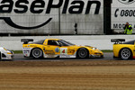 #4 Peka Racing Corvette C5R: Anthony Kumpen, Bert Longin