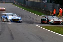 #22 Aston Martin Racing BMS Aston Martin DBR9; #36 Jetalliance Racing Aston Martin DBR9