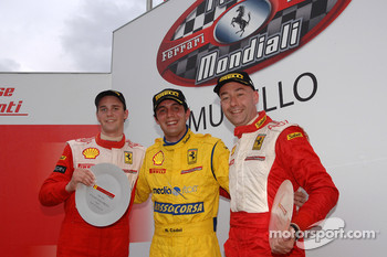 Race 1: The podium