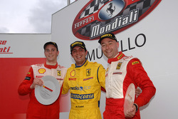 Race 1: The podium