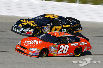 Matt Kenseth and Tony Stewart