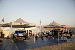 Volkswagen Motorsport service area
