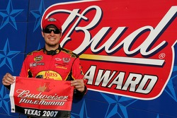 Pole winner Martin Truex Jr.