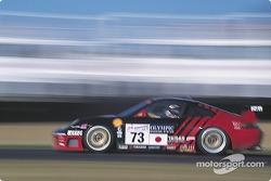 #73 Team Taisan Advan Porsche 996 GT3: Hideo Fukuyama, Bruno Lambert, Atsushi Yogou