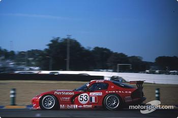 #53 Team Oreca Chrysler Viper GTSR: David Donohue, Ni Amorim, Anthony Beltoise, Le Mans 2000