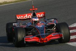 Gary Paffett, Test Driver, McLaren Mercedes, MP4-22