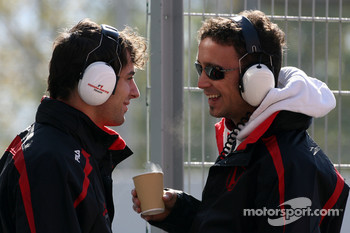 Luca Filippi, Honda Racing F1 Team, Andreas Zuber, Test Driver, Honda Racing F1 Team