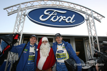 Will Santa Claus deliver the Christmas present that Finland's Marcus Gronholm and Timo Rautiainen really want ??