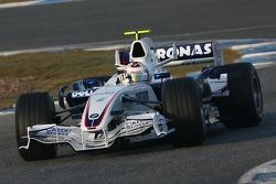 Javier Villa, Test Driver, BMW Sauber F1 Team, F1.07