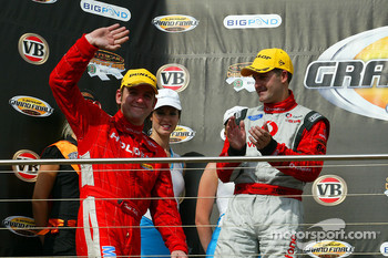 Todd Kelly takes second for the round (Holden Racing Team Commodore VE)