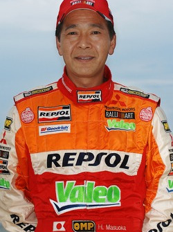 Repsol Mitsubishi Ralliart Team: Hiroshi Masuoka