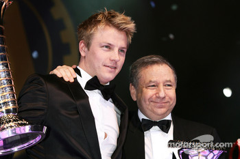 FIA Formula One World Championship: Jean Todt and Kimi Raikkonen, Ferrari