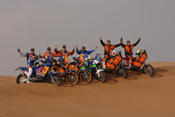 KTM: KTM factory team riders pose