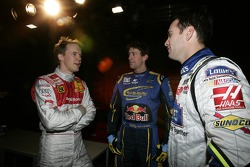 Mattias Ekström, Travis Pastrana and Jimmie Johnson