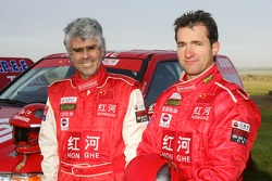Team Dessoude presentation in Le Galicet: Jean-Pierre Strugo and Jean Brucy