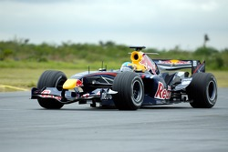 Red Bull F1 Showcar run in Mexico