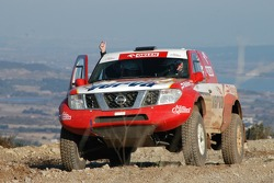 Orlen Team test at Chateau Lastour: Krzysztof Holowczyc and Jean-Marc Fortin