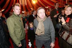 Ferrari Christmas for Kids party: Kimi Raikkonen and Jean Todt