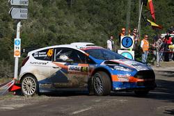 Teemu Suninen and Mikko Markkula, Ford Fiesta R5